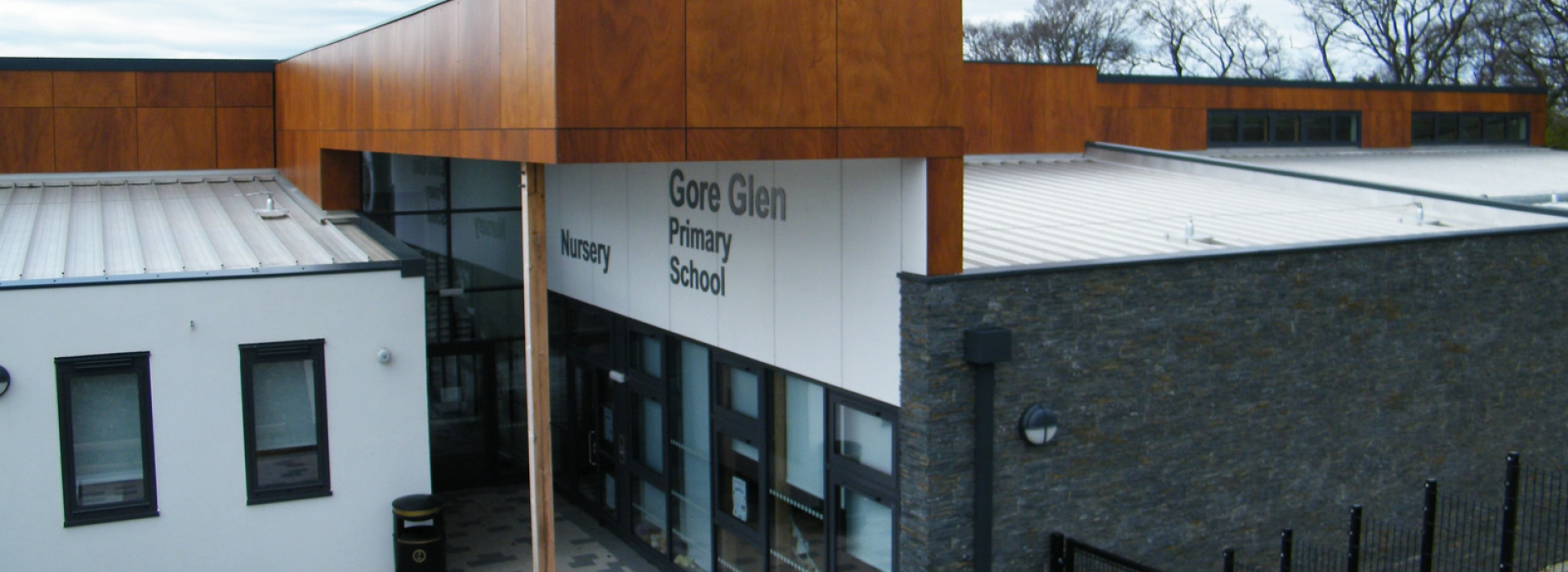Gore Glen Primary School Main Entrance